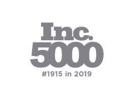Inc 5000 #1915 in 2019