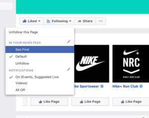 Nike Facebook
