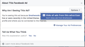 Facebook - Hide All Ads