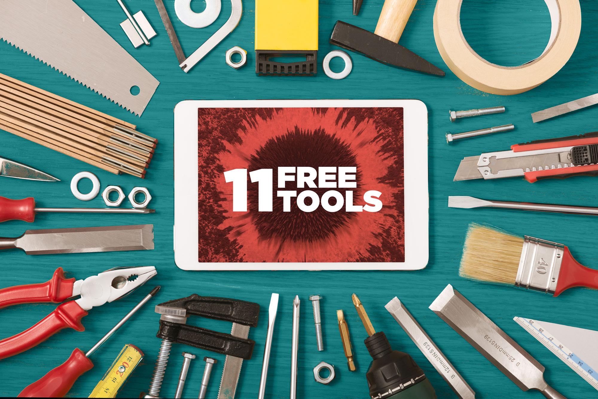 11 free tools
