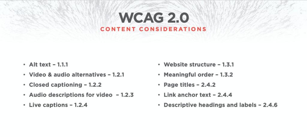 WCAG 2.0 Content Considerations_TOC