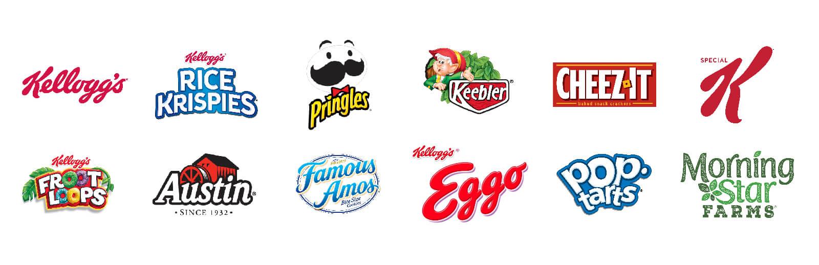 Kelloggs Brand Architecture and Logos