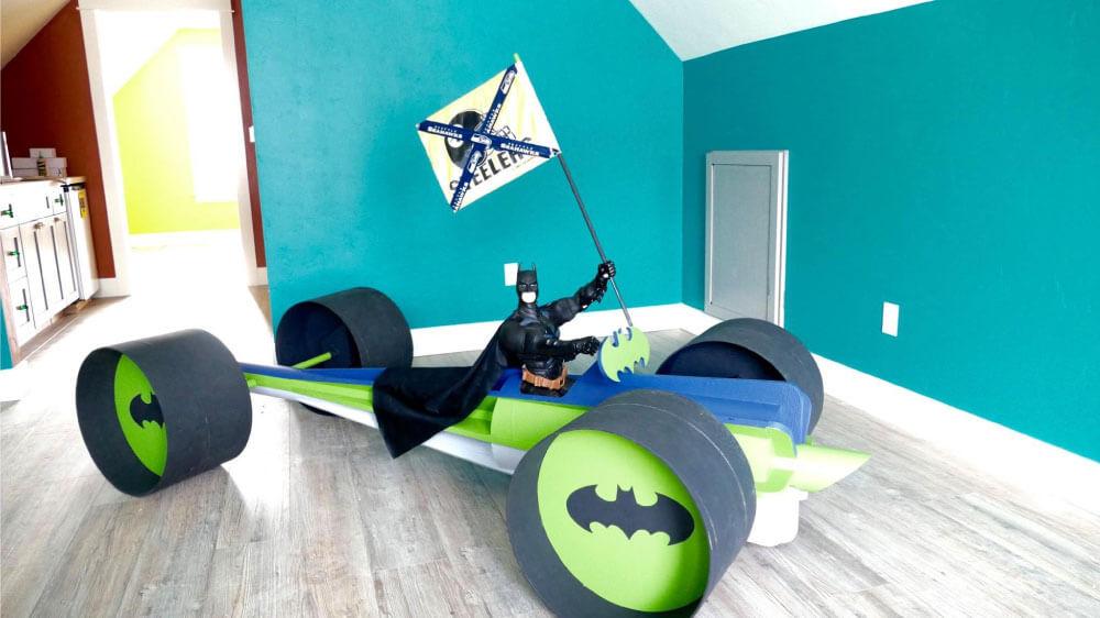 Batman in Taylor's Living Room