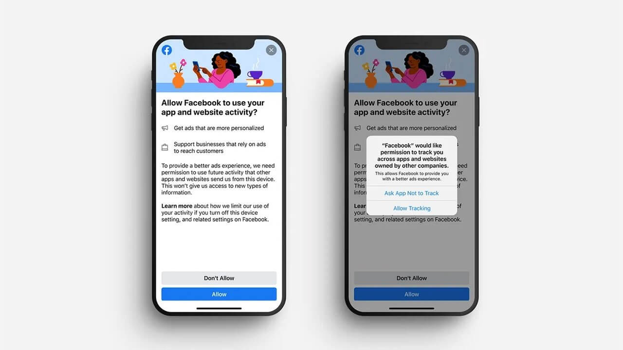 Apple iOS 14.5 Facebook Opt Out Notification